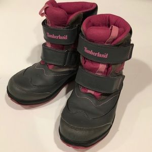 Timberland waterproof thermalite girls boots 5